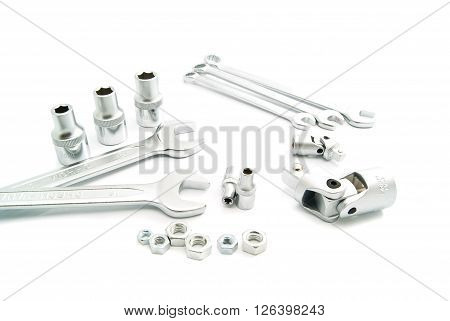 Wrenches And Metal Heads