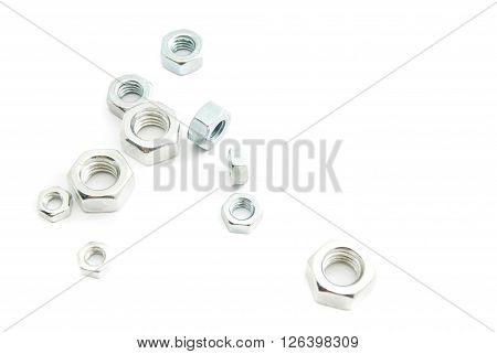 Various Metal Nuts