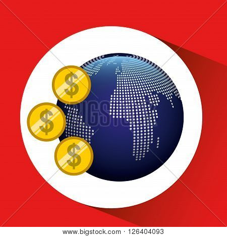 global economy design, vector illustration eps10 graphic