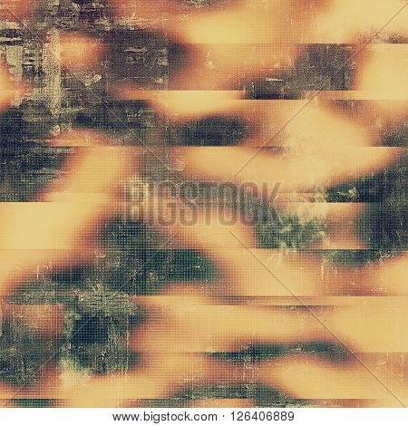Nice looking grunge texture or abstract background. With different color patterns: yellow (beige); brown; gray; red (orange); black