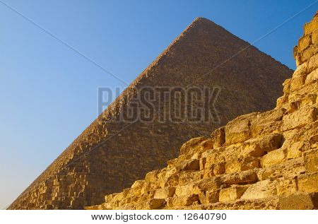 Ruins Of The Pyramid Of Cheops