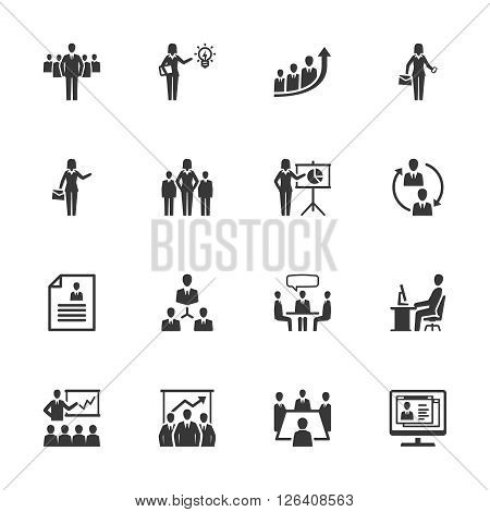 Business & Management Icons - Set 1