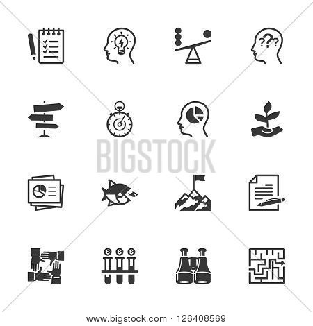 Business & Management Icons - Set 3