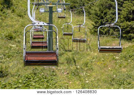 European Alpine Chairlift