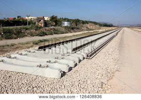 We are building a new railway from Haifa to the city of Carmiel