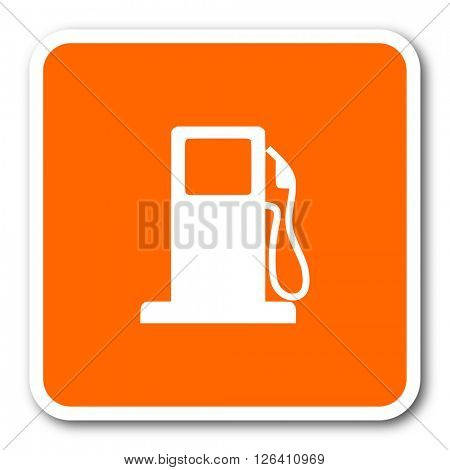 petrol orange flat design modern web icon