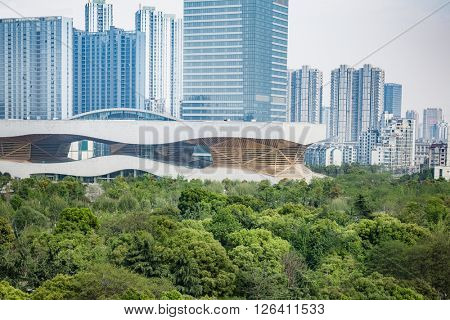 modern buildings,shanghai