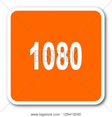 1080 orange flat design modern web icon