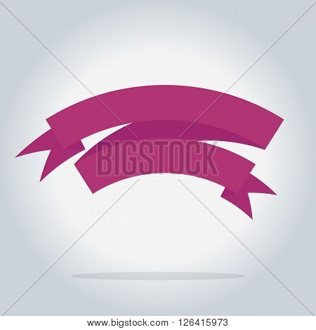 Bitmap ribbon isolated icon, sale element, bitmap illustration