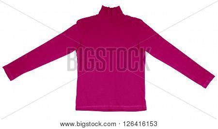 T-shirt With Long Sleeves - Pink