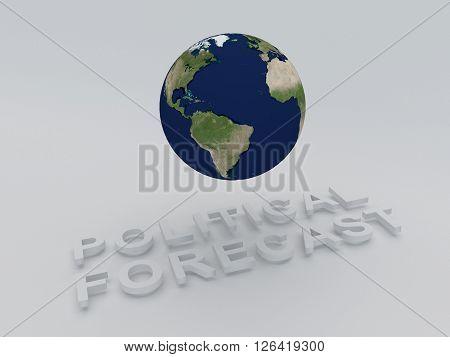 Political Forecast Concept