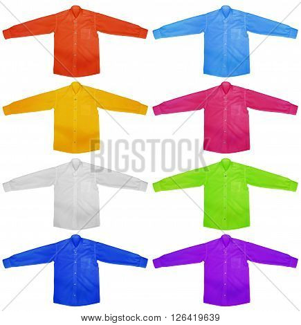 Shirt With Long Sleeves - Colorful