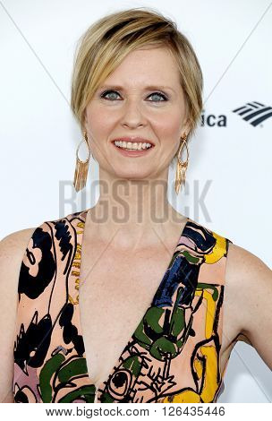 Cynthia Nixon at the 2016 Film Independent Spirit Awards held at the Santa Monica Beach in Santa Monica, USA on February 27, 2016.