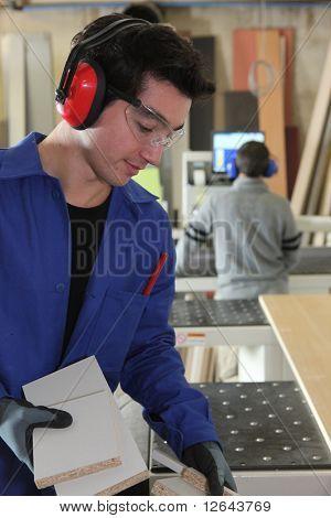 Apprentice carpenter