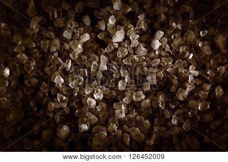 natural crystals. minerals and fossils. salt crystals.