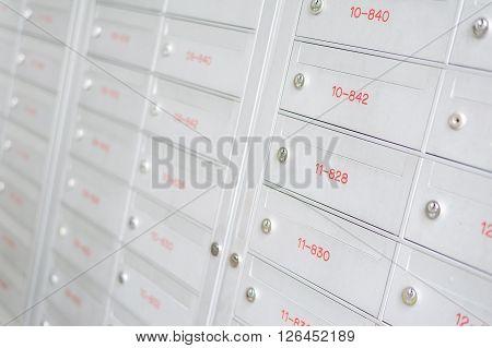 New Aluminium Letter Boxes