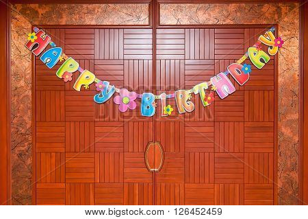 Colourful Birthday Decorations