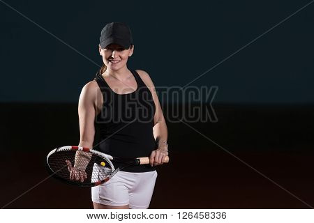 Cheerful Tennis Player