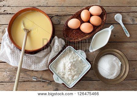 Custard Cream Ingredients