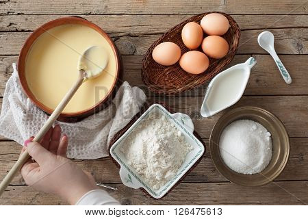 Fresh Prepared Custard Cream