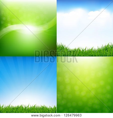 Nature Set Posters