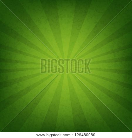 Green Sunburst Wallpaper