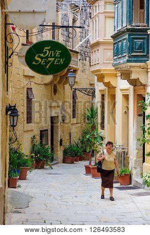 Alley In Birgu