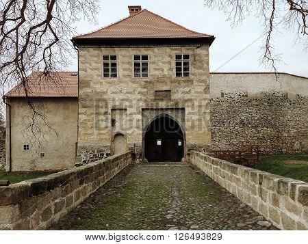 Lipy Castle in the Ceska Lipa Eastern Bohemia Czech Republic, the former headquarters in the 18 to 20 century.