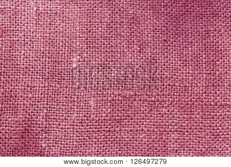 Pink Textile Sack Texture