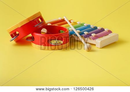 Colorful Baby Xylophone With Stick