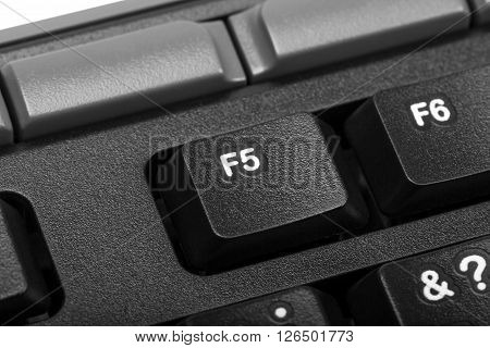 Electronic Collection - Detail Computer Key F5