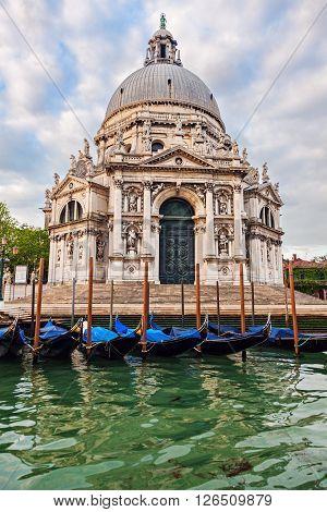 Santa Maria della Salute in Venice. Venice Veneto Italy