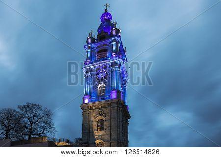Belfry of Mons. Mons Hainaut Wallonia Belgium.