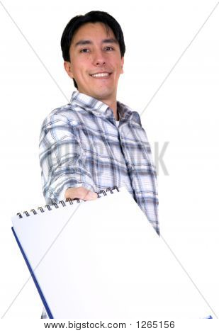 Casual Student Offering Notebook