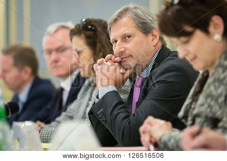 European Commissioner Johannes Hahn