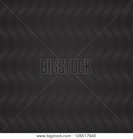Wavy seamless dotted pattern. Vector illustration eps10.
