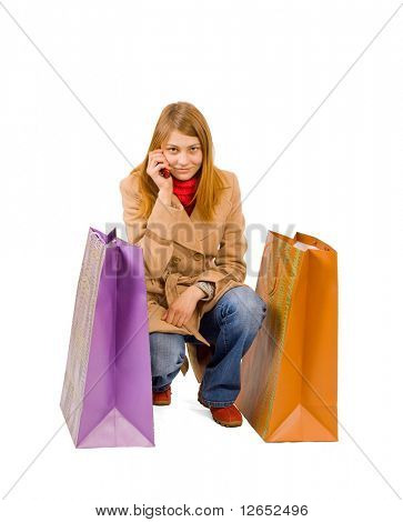 "shopping - See similar images of this ""Gorgeous shopping women"" series in my portfolio"