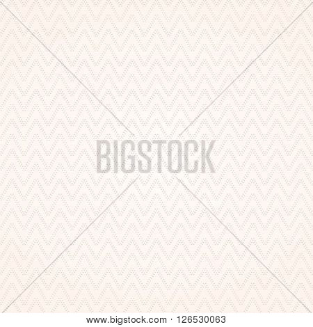 Delicate seamless pattern - dotted zigzag texture. Vector illustration.