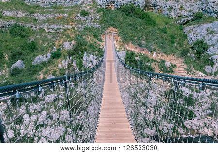 Bridge on the Gravina di Matera sassi di matera UNESCO European Capital of Culture 2019