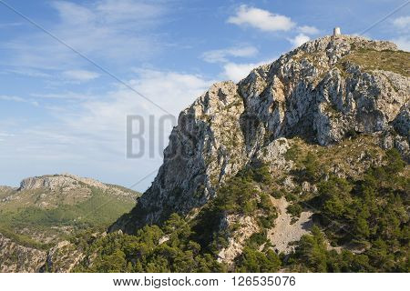 In the mountains of Mallorca island, Baleares, Spain