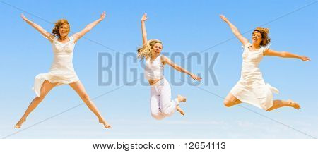 "wanna jump forever -  of  ""Sport and fitness"" series in my portfolio"
