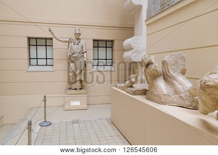 Moscow, Russia - October 29, 2015: Pushkin Museum