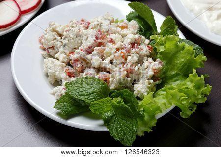salad arabic