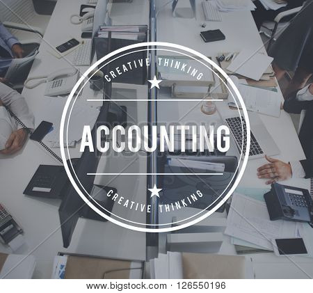 Accounting Budget Balance Income Management Concept