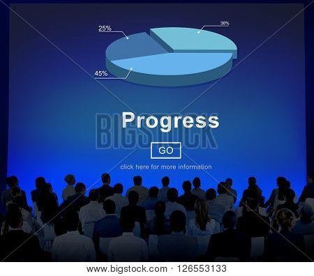 Progress Development Improvement Advancement Concept