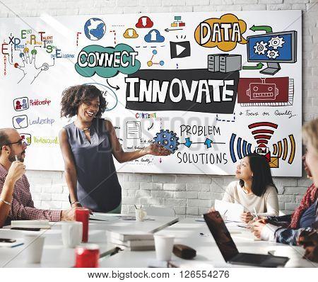 Innovate Innovation Technology Tactics Future Concept