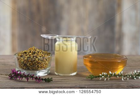 vitamins and nutritional supplements-organic honey bee products