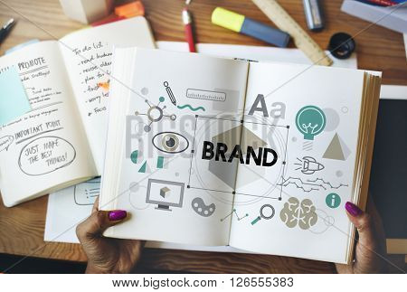 Brand Branding Label Marketing Profile Trademark Concept