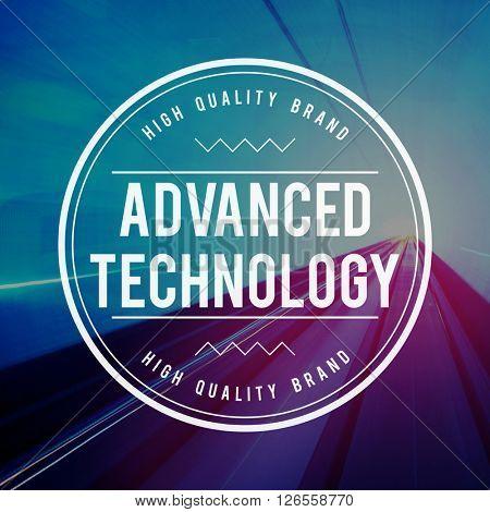 Advanced Technology Modern Digital Concept