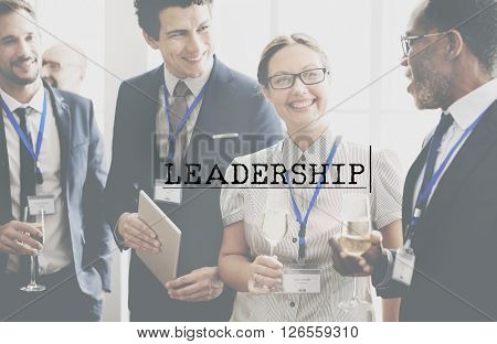Leadership Manager Boss Coach Director Concept